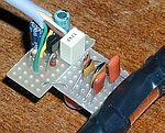 Particolare condensatori antenna